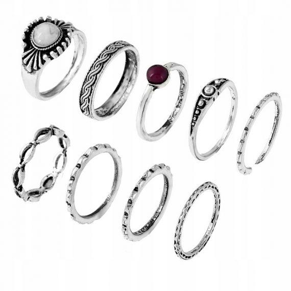 Zestaw pierścionków Besi