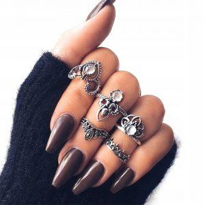 Zestaw pierścionków Corona