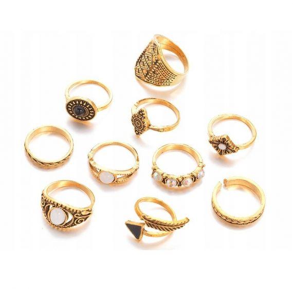 Zestaw pierścionków Hana