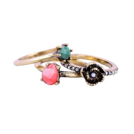 Zestaw pierścionków Madlen